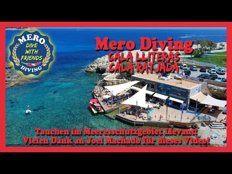 Tauchen mit Mero Diving, Mallorca, Cala Ratjada, Cala Lliteras
