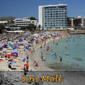 Playa Son Moll in Cala Ratjada