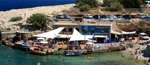 Die Tauchbasis MERO und die Bar SA COVA im Sommer 2018