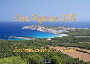 """Wandkalender """"Cala Ratjada 2019"""" Deckblatt"""