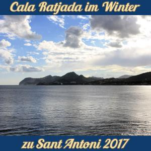 Cala Ratjada zu Sant Antoni im Januar 2017 - Fernsicht zum Cap Vermell