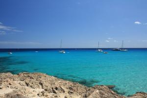 Stimmungsbild Blaues Meer