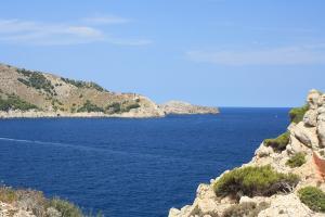 Wanderung L'olla mit Blick zum Cap Des Freu
